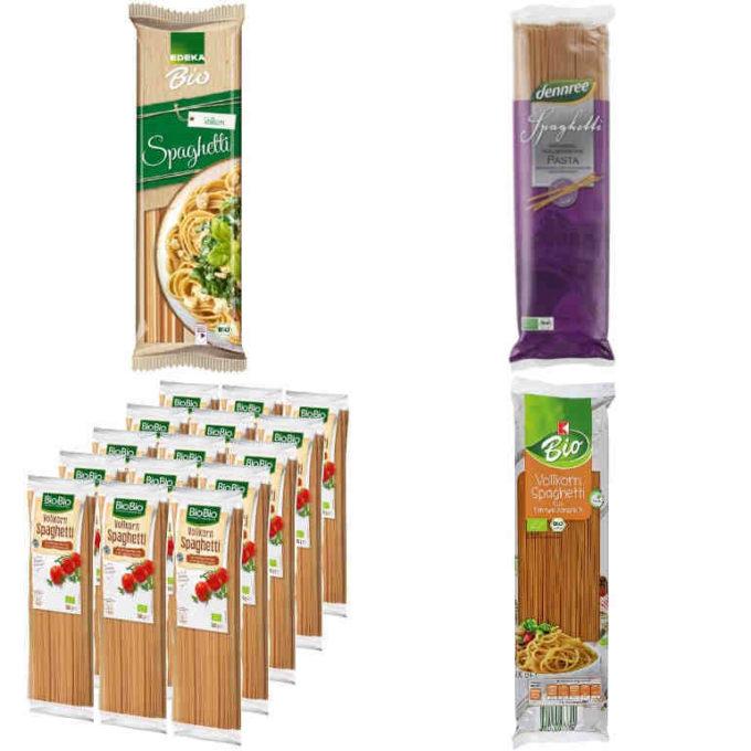 (sehr) gut im Test: Vollkornspaghetti