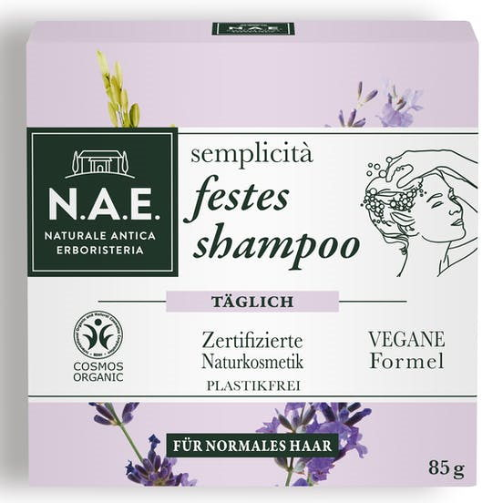 sehr gut im Test von Öko-Test 9/2020: N.A.E. semplicità festes shampoo