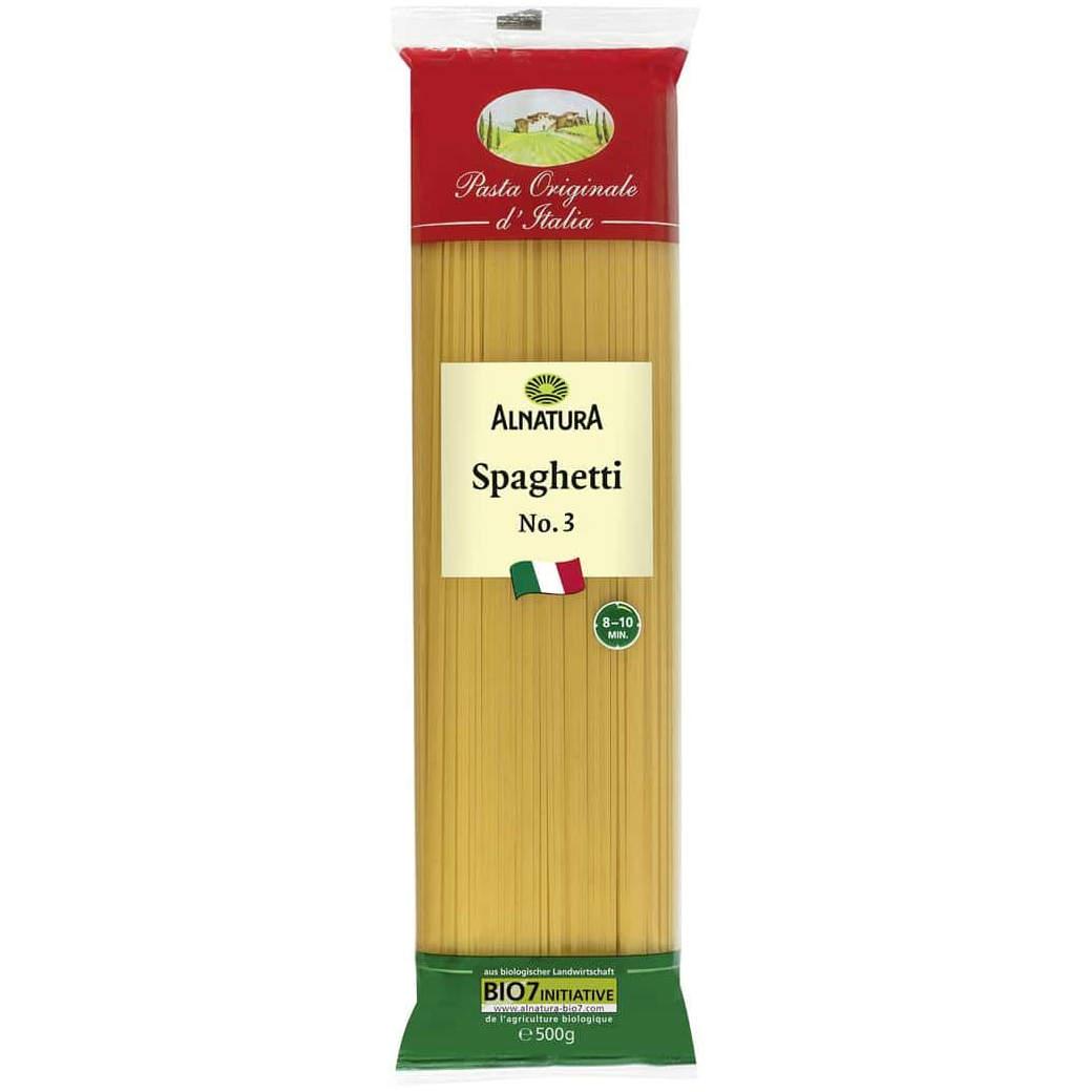 Testsieger und sehr gut im Test von Öko-Test 02/2021: Alnatura Spaghetti No. 3