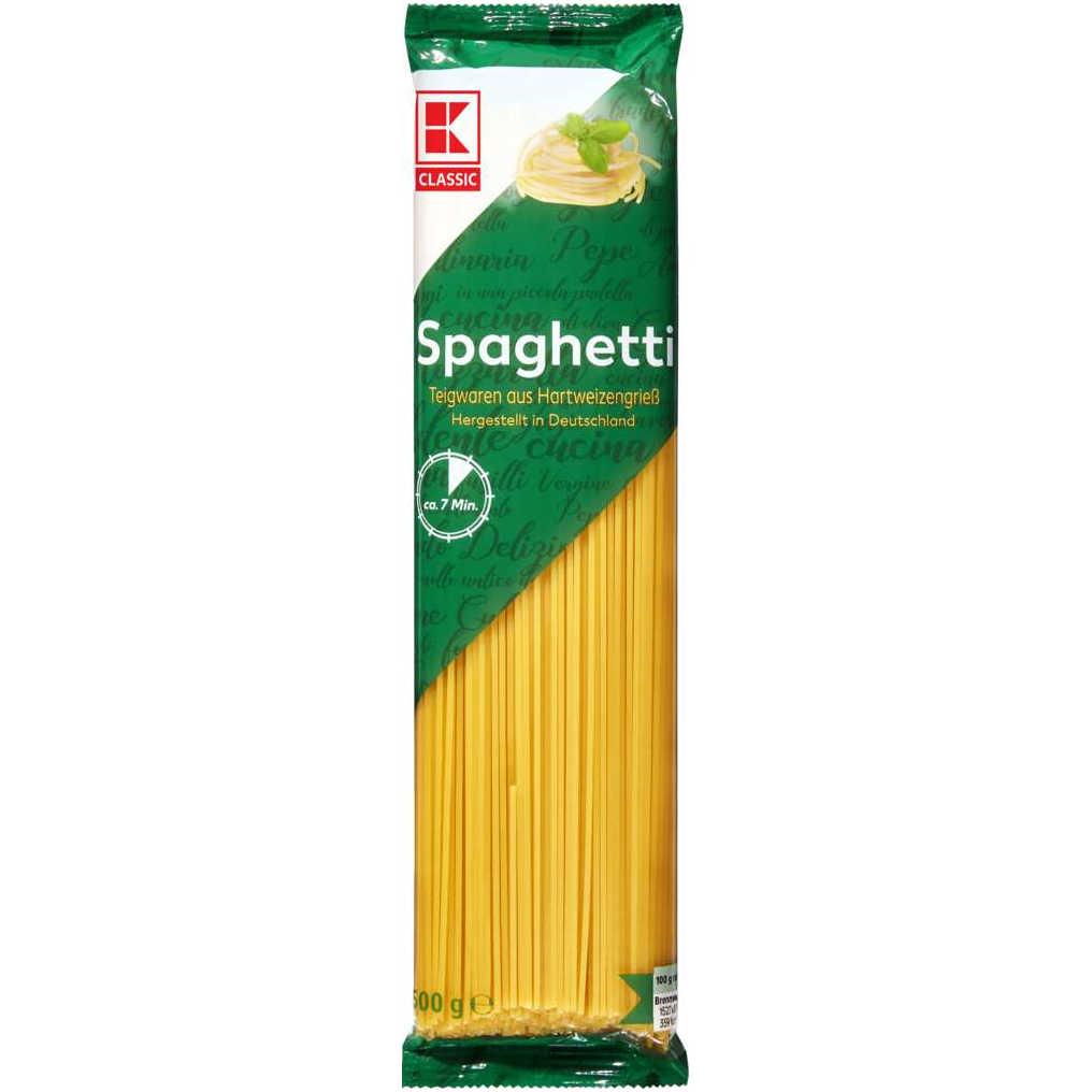 gut im Test von Öko-Test 02/2021: K-CLASSIC Spaghetti (Kaufland)