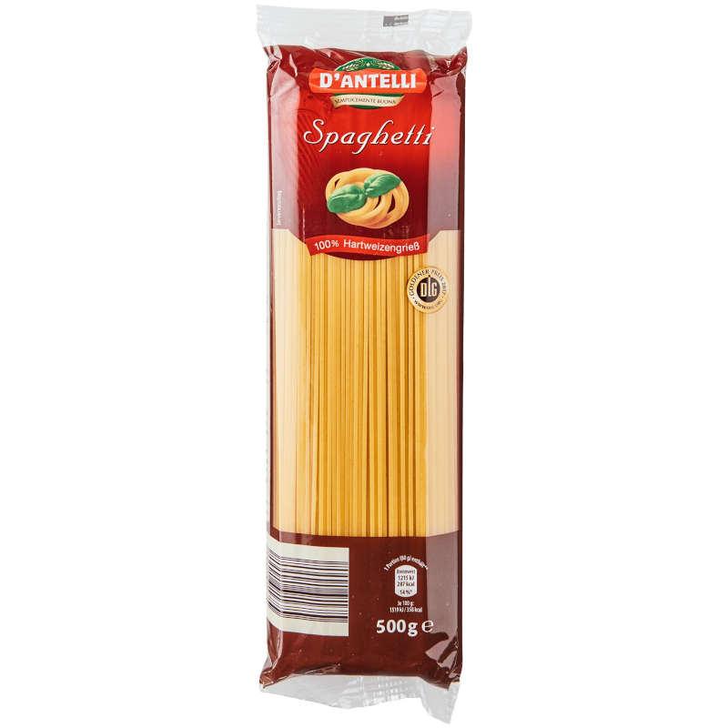 Testsieger und sehr gut im Test von Öko-Test 02/2021: D´ANTELLI - Spaghetti (Aldi Nord)