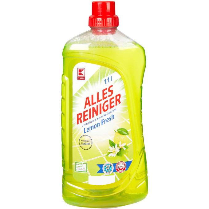 K-Classic Allesreiniger Lemon Fresh (Kaufland)